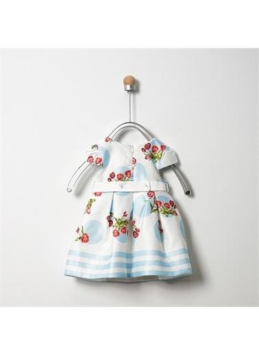 Panço Elbise 19126081100 Mavi